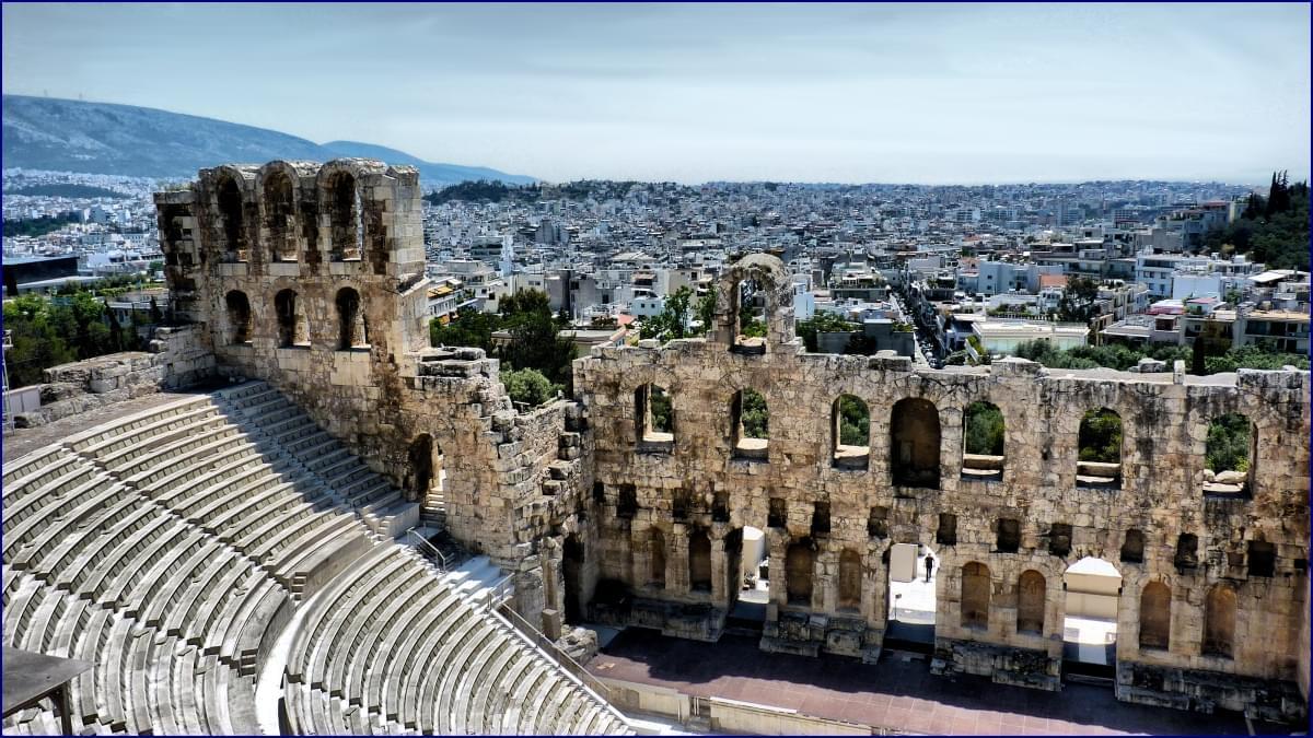 panorama acropoli atene
