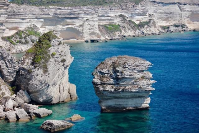 panorama corsica bonifacio rocce 2