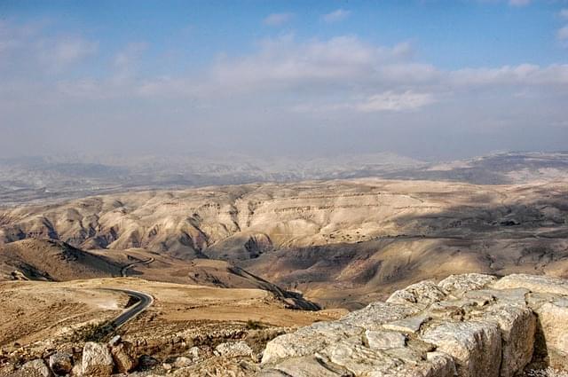 panorama della giordania