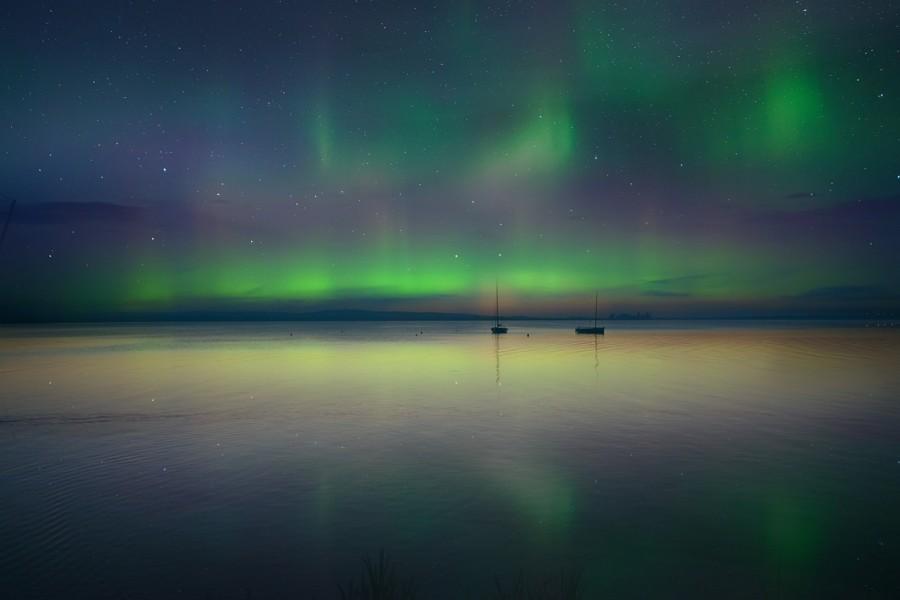aurora boreale inverno