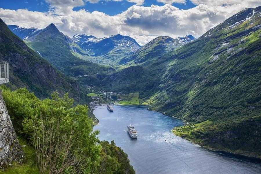 crociera nei fiordi