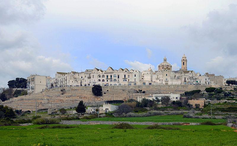 panorama of locorotondo