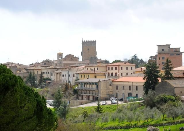 panoramica castellina in chianti italia