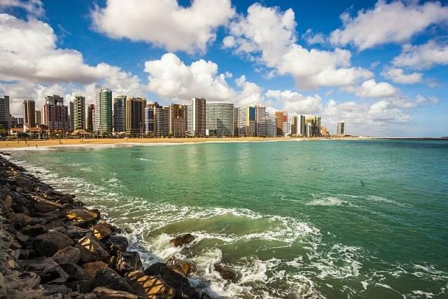 panoramica di fortaleza brasile
