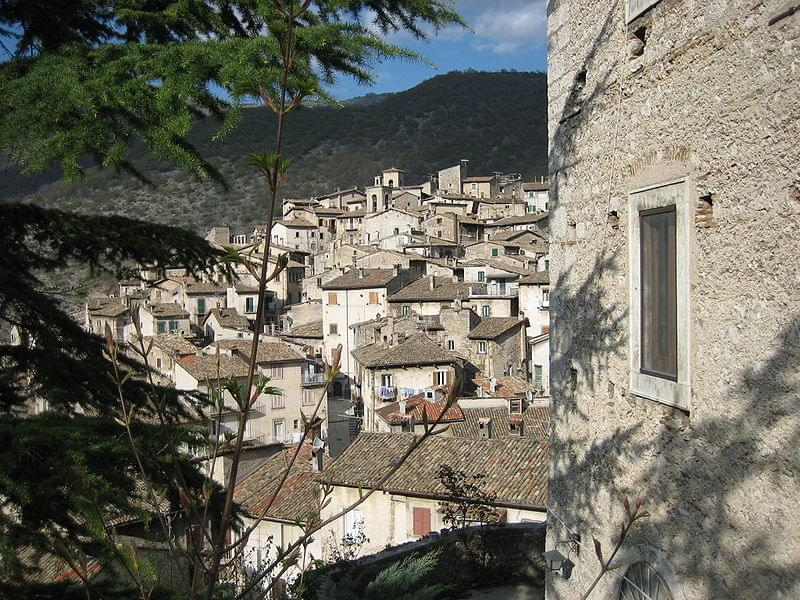 panoramica di scanno