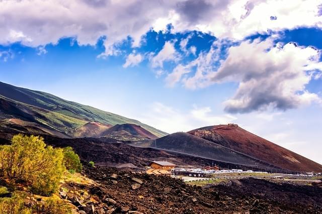 vulcano montagna lava etna sicilia 1