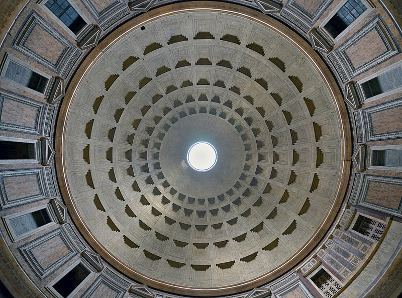 01 cupola pantheon roma