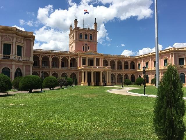 paraguay asuncion palazzo