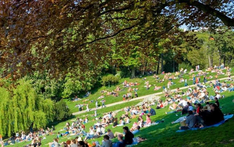 Parc des Buttes-Chamount, Parigi (Francia)