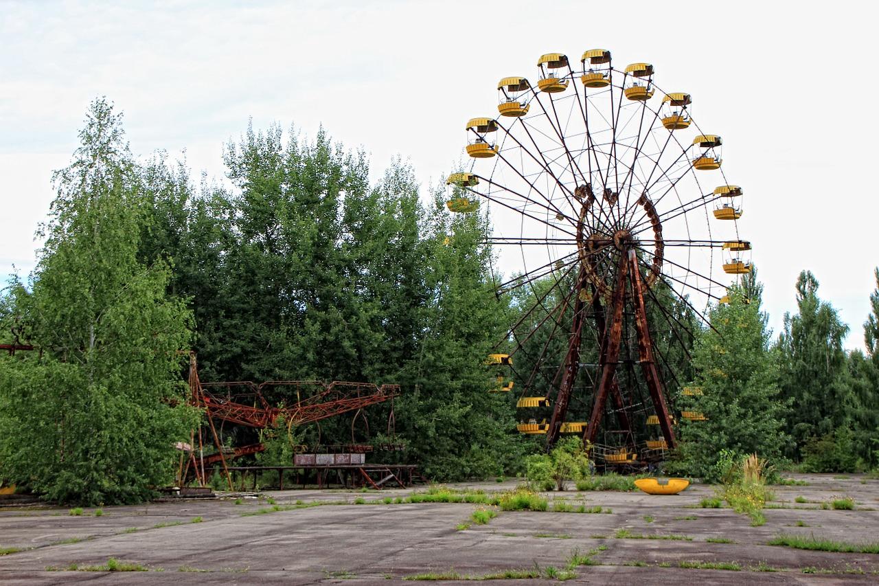pripyat foresta rossa