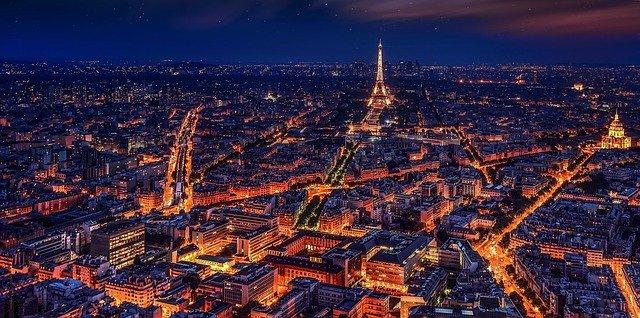 parigi francia torre eiffel notte 2