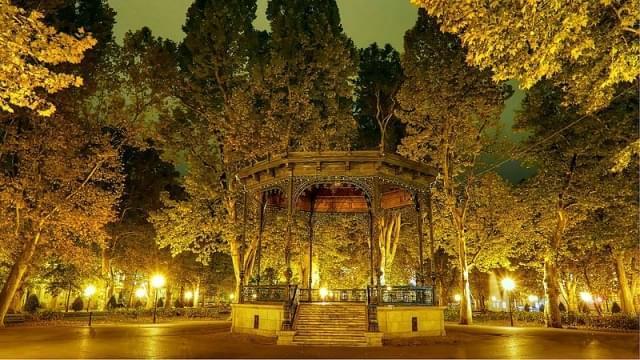 park zrinjevac zagabria padiglione musica