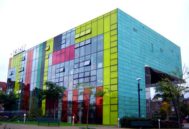 Peckham Library di Londra, Regno Unito
