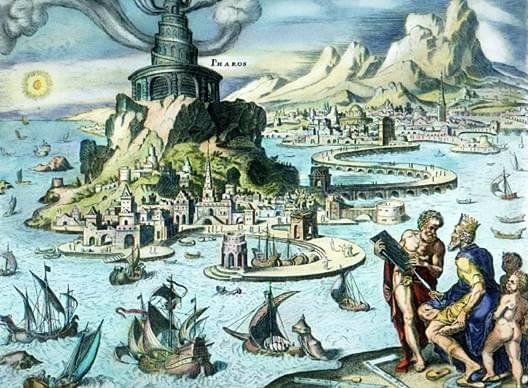 Alessandria d'Egitto - meraviglie del mondo antico