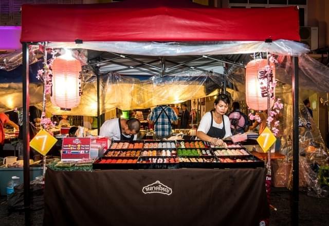phuket thailandia asia street food