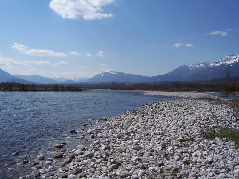 I fiumi pi lunghi e importanti d 39 italia - Laghi dove fare il bagno veneto ...