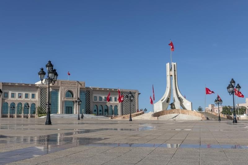 piazza del governo tunisi