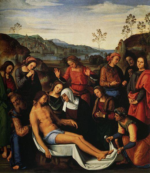 Compianto su Cristo morto, Perugino