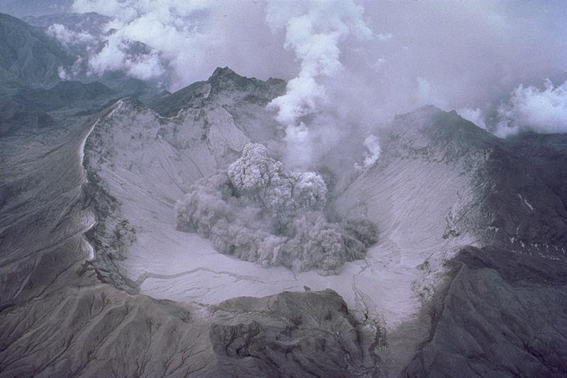 Pinatubo vulcano nelle Filippine