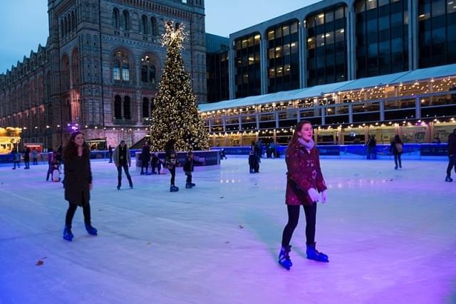piste pattinaggio ghiaccio londra
