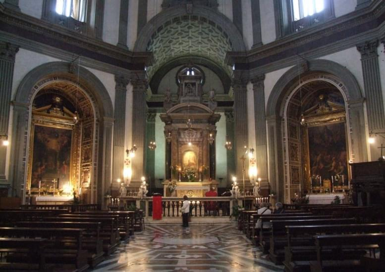 Interno della basilica della Madonna dell'Umiltà