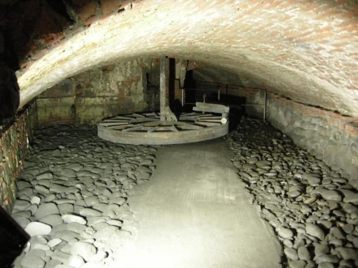 pistoia sotterranea antico frantoio