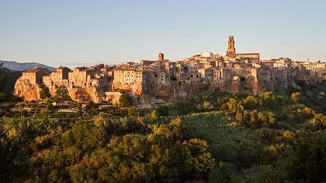 pitiglioano tramonto tuscany italia 1
