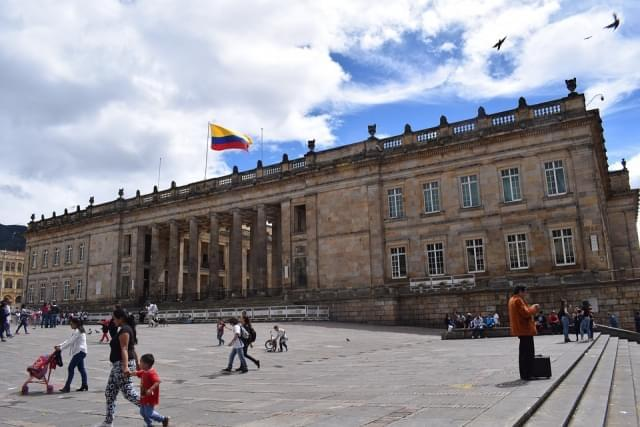 plaza bolivar bogot
