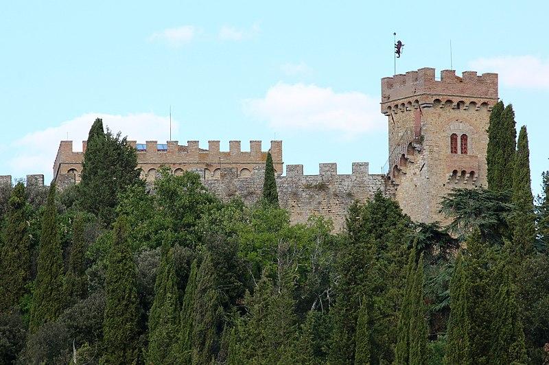 Il Castello di Strozzavolpe a Poggibonsi