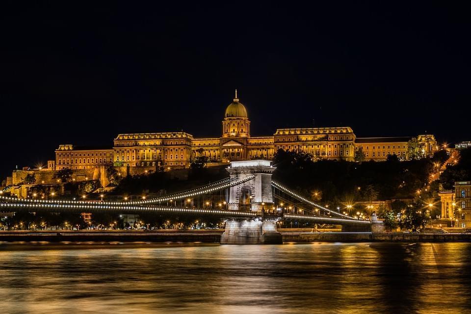 ponte delle catene castello di budapest