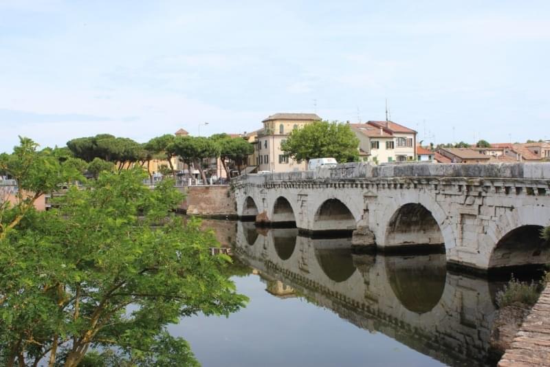 ponte di tiberio rimini