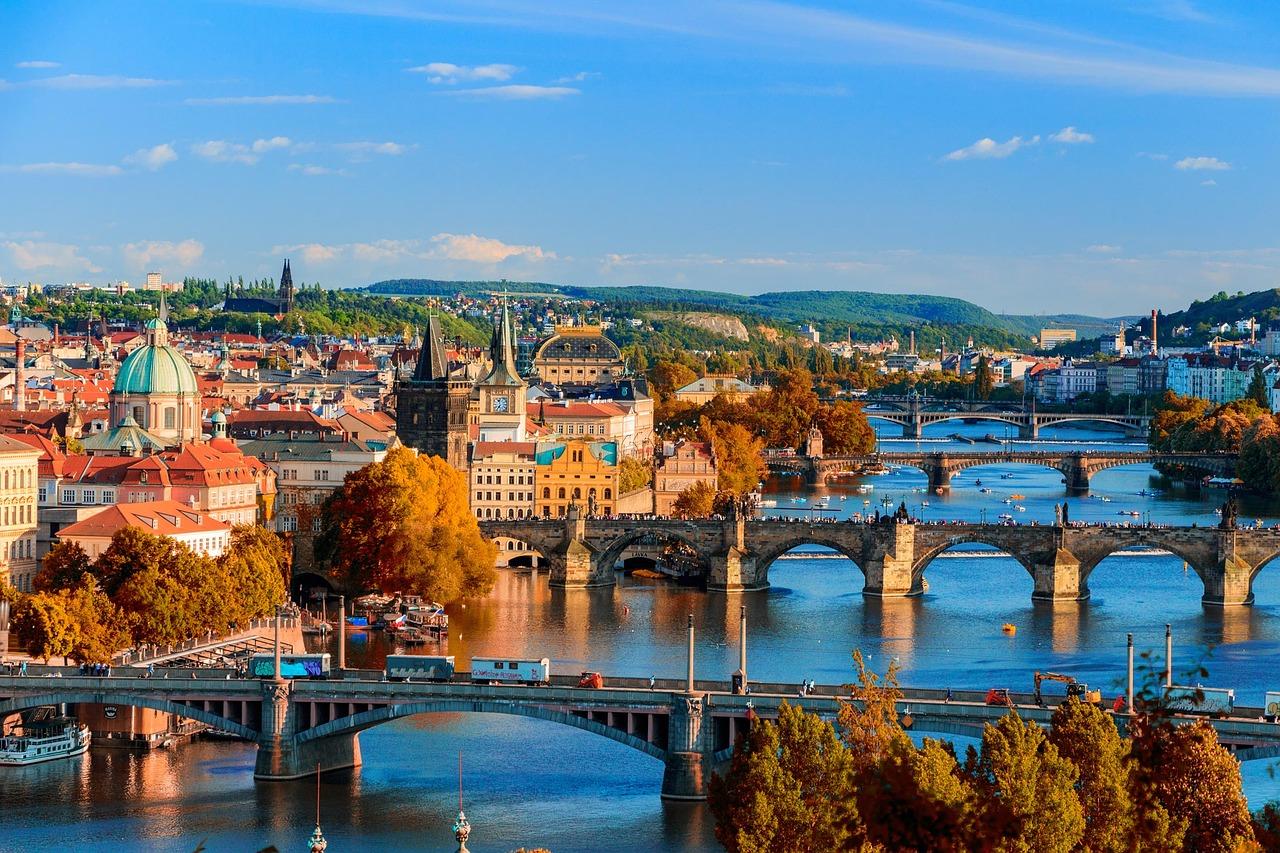 Praga città romantica