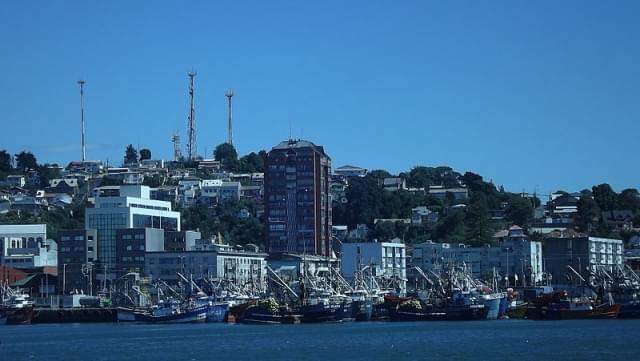 porto talcahuano cile