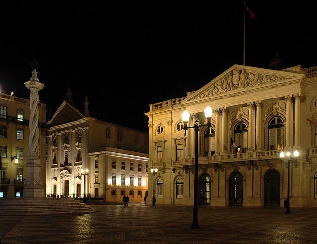 portogallo lisbona centro storico