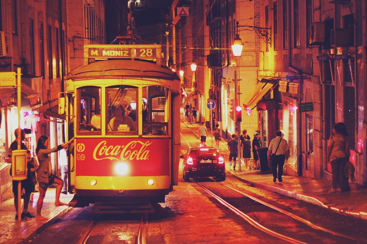Lisbona città romantica