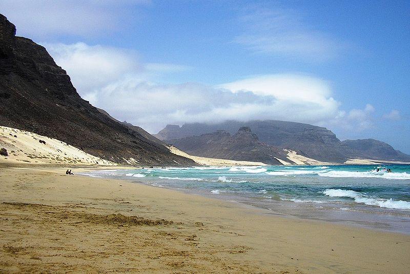 Spiaggia di calhau capo verde