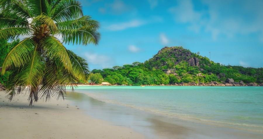 spiaggia e mare alle Seychelles