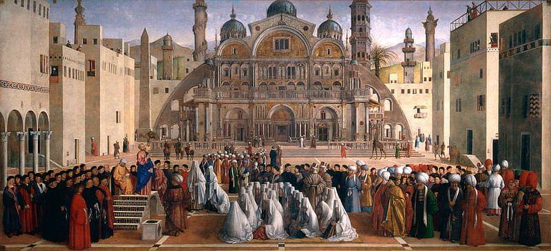 predica di san marco in una piazza di alessandria d egitto