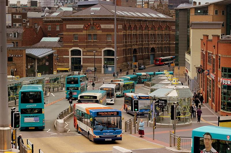 queen station bus liverpool