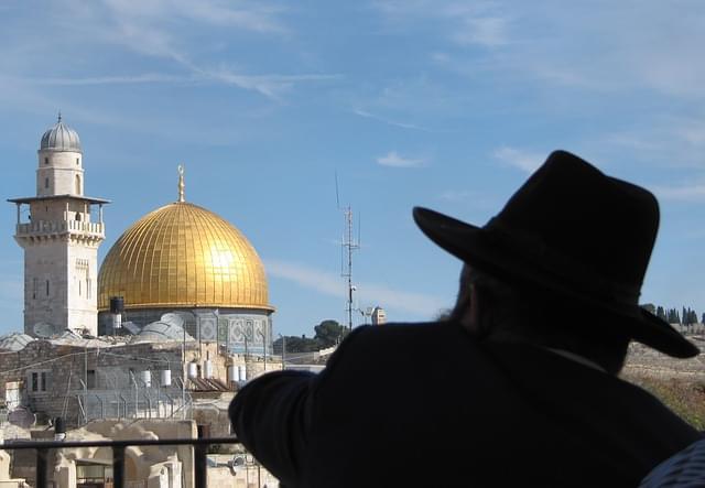 Vestito da rabbino