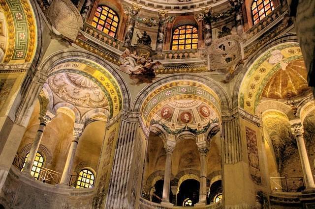 ravenna basilica mosaici