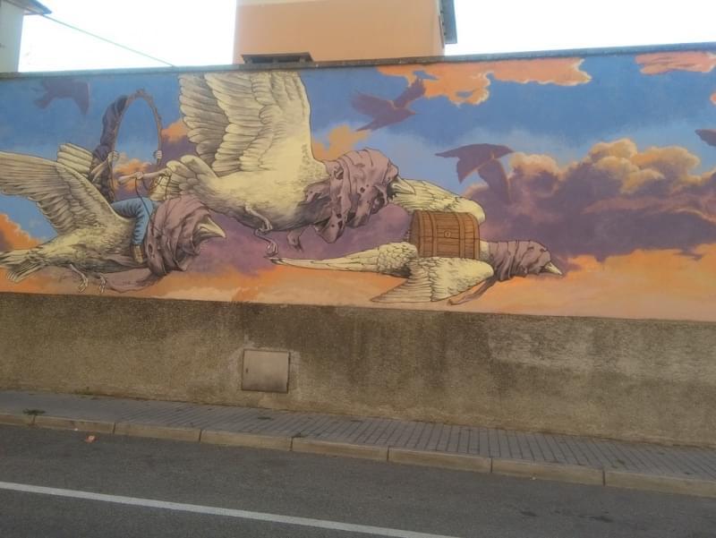 l Buon Vivere a Ravenna è... la street art