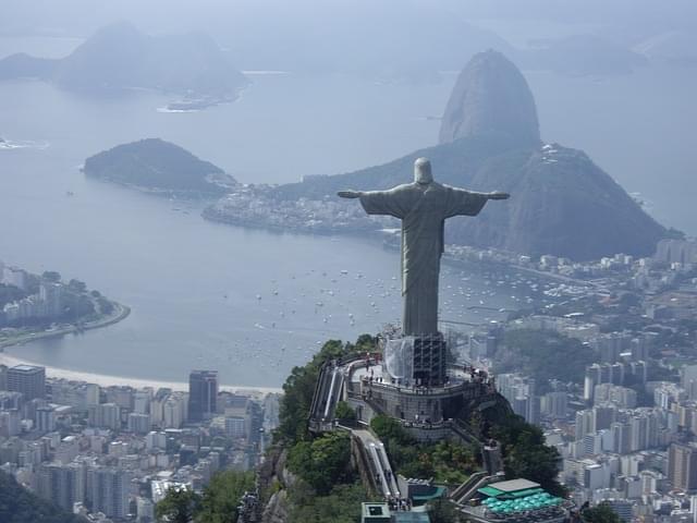 rio brasile cristo