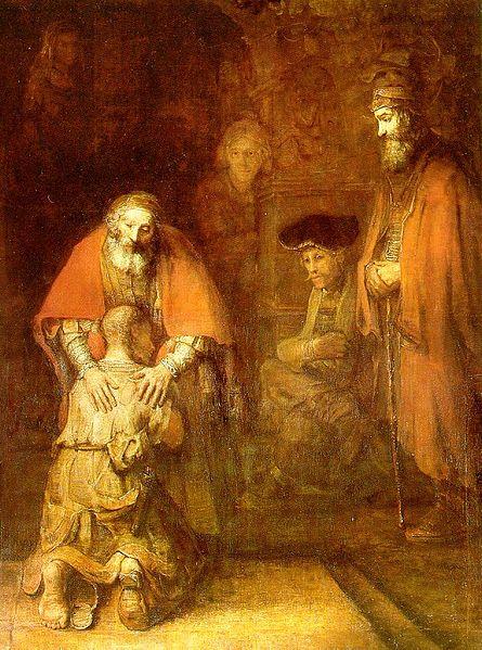 Ritorno del Figliol Prodigo, Rembrandt