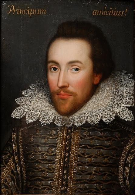 ritratto di william shakespeare