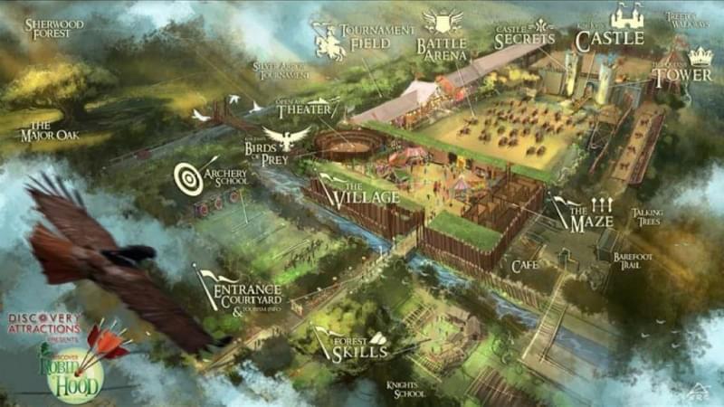Discover Robin Hood parco avventura