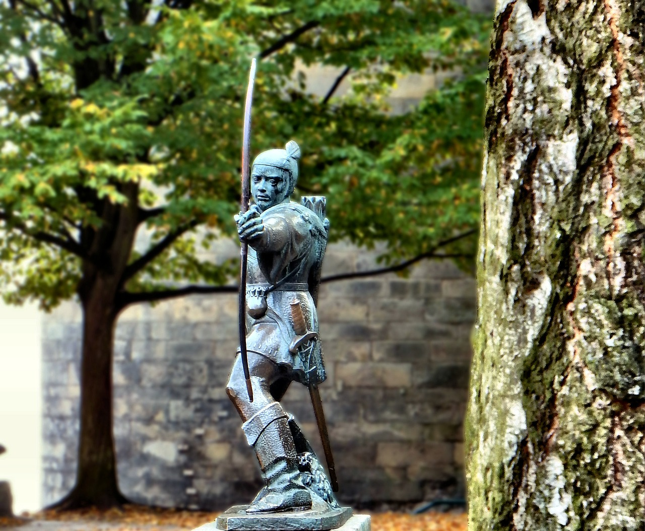 Statua Robin Hood