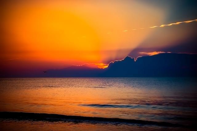 romania tramonto crepuscolo cielo 1