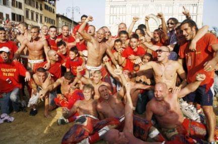 calcio storico fiorentino - festeggiamenti