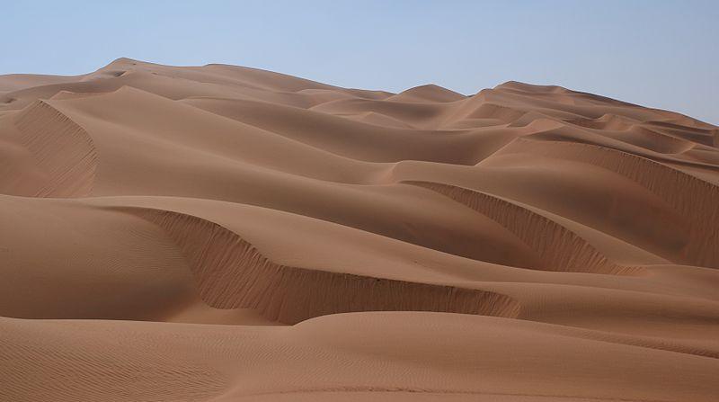 4 - Rub' al-Khali: 2.330.000 km2